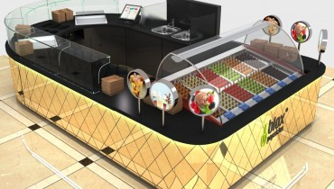 ice cream kiosk design for sale