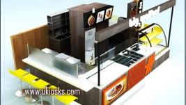 crepe kiosk | waffle kiosk in mall