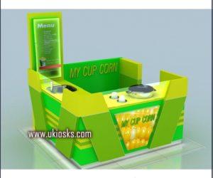 corn kiosk & mall corn kiosk design in shopping mall