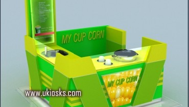 corn kiosk & mall corn kiosk design in shopping mall