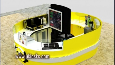 high quality new juice kiosk design in mall for sale