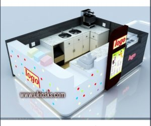 fast food kiosk design