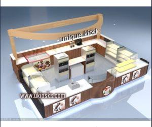 beauty food kiosk | coffee kiosk design in mall for sale