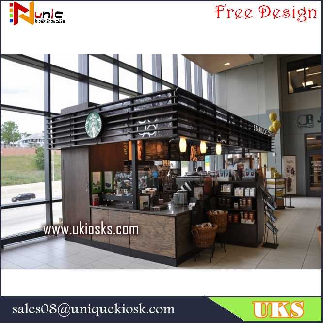 Starbucks coffee kiosk