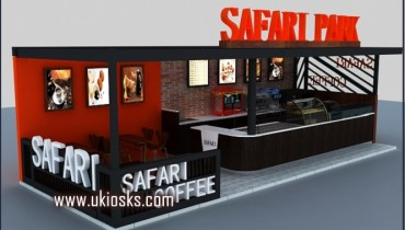 new design fashionable style coffee kiosk in mall for sale