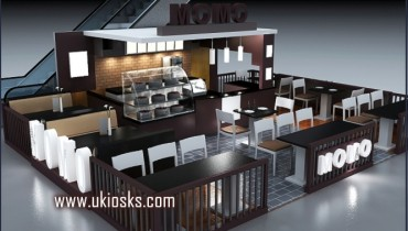 High quality customized coffee kiosk for sale