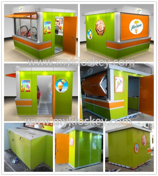 ice cream kiosk