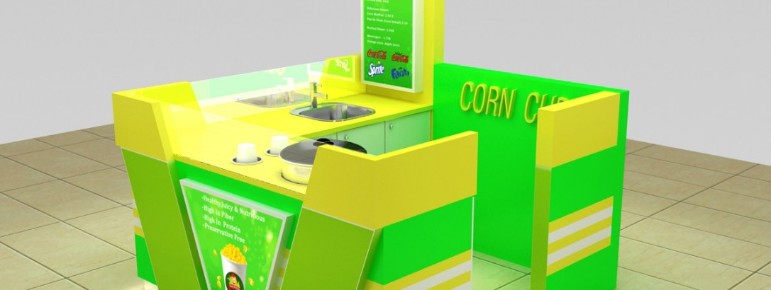 how to build a corn kiosk ?