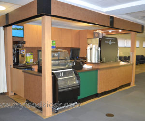 customized coffee kiosk in mall for sale