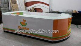 Dr. juice kiosk design for shopping mall