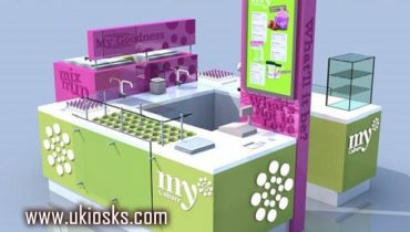 My culture frozen yogurt kiosk in mall for sale