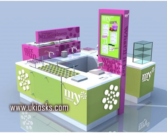 How to bulid a frozen yogurt kiosk ?