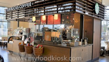 starbucks coffee kiosk design for shopping mall