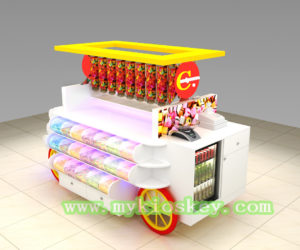 100 + most popular high end candy kiosk in USA