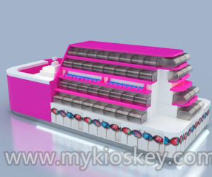 cheap with high quality candy kiosk in mall for sale