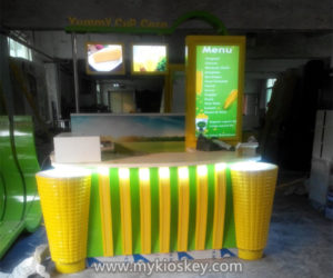 100+ high end cheap sweet corn kiosk design for shopping mall