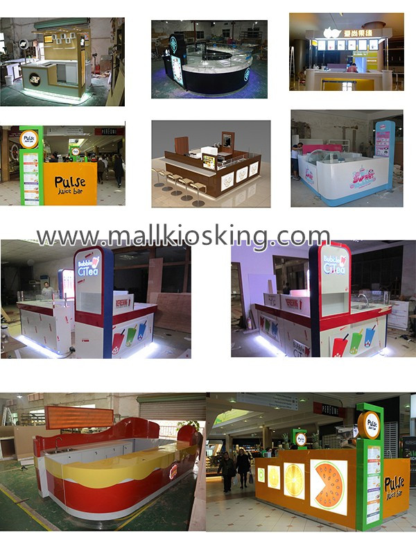 bubble tea kiosk