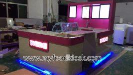 100+ high end YOGMOG frozen yogurt kiosk design for sale