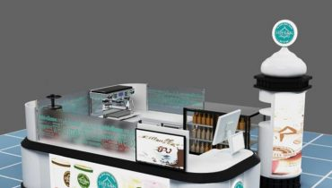 Hot sale juice coffee kiosk design for shopping mall