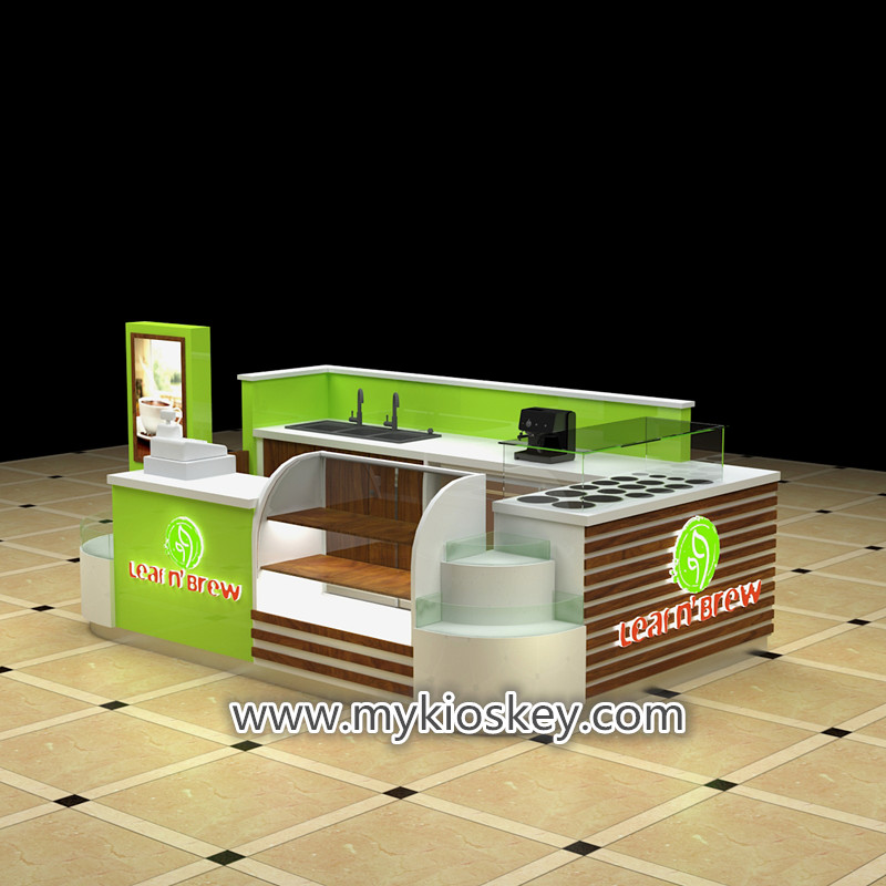Most popular newest elegance coffee kiosk for US