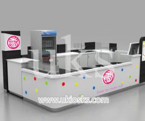 13X8 retail mall food fried ice cream kiosk export USA