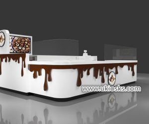 100% handmade attractive chocolate fountain kiosk export USA