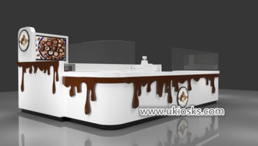 100% handmade attractive chocolate fountain kiosk export USA
