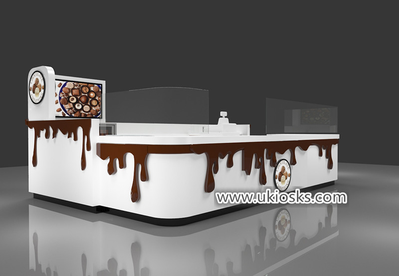 chocolate fountain kiosk