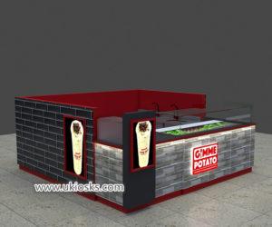 100+ popular Gimme Potato fast food juice bar kiosk export United States