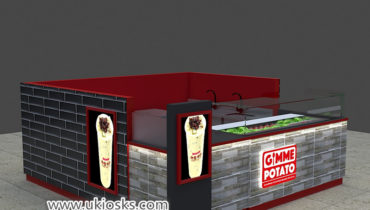 100+ popular Gimme Potato fast food juice bar kiosk export United States