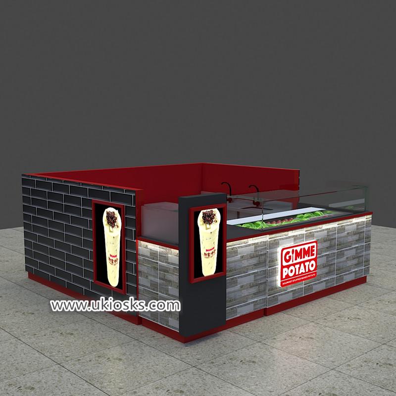 juice bar kiosk