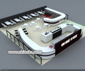 Coffee shop & Popular Modern coffee shop counter design for sale