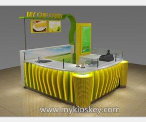 Best selling sweet cup corn kiosk & mall corn kiosk design for shopping mall