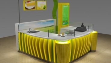 Best selling sweet cup corn kiosk & mall corn kiosk design for shopping mall