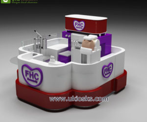UK most popular ice cream kiosk for shopping mall