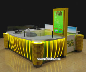 Best selling sweet corn kiosk & cup corn kiosk design for shopping mall