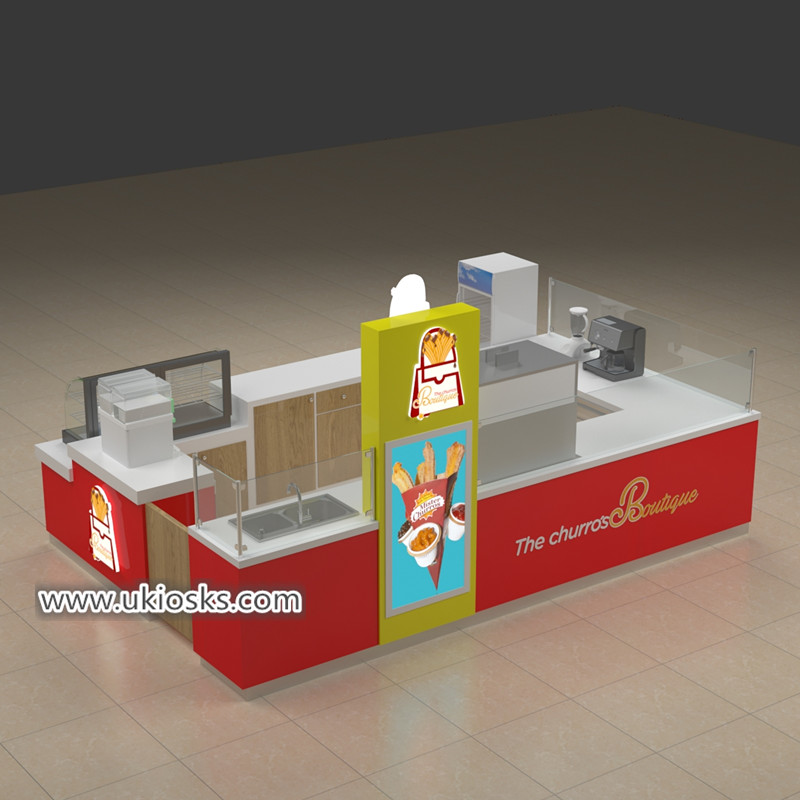 churros display kiosk