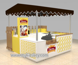 Creative fast food snack kiosk export spain