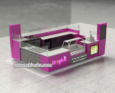 United stated popular ice cream kiosk design for sale