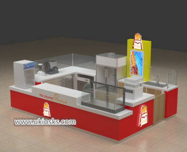 Shopping mall churros display kiosk export to United stated