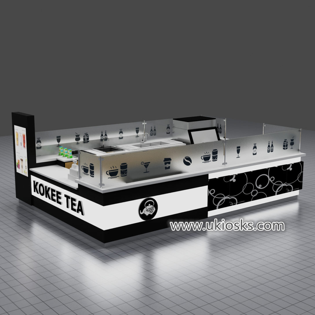 Most popular KOKEE TEA bubble tea kiosk export to America