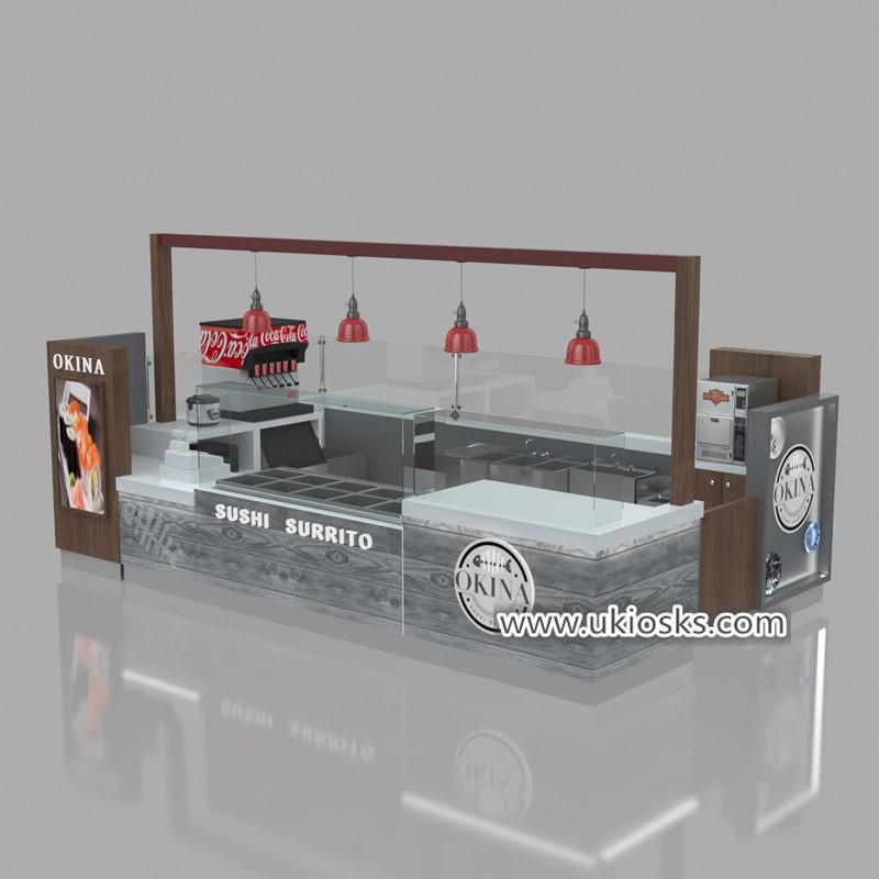 Food Kiosk | Custom Fast Food Kiosk For sale | Design & Manufacturer