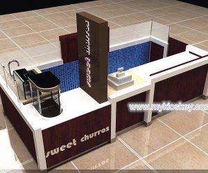 Mall retail fast food coffee kiosk design for sale