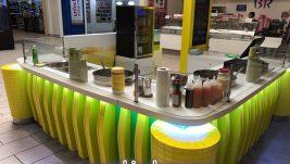Creative sweet corn kiosk design for sale
