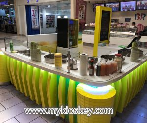 Creative sweet corn kiosk design for sale